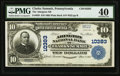 National Bank Notes:Pennsylvania, Clarks Summit, PA - $10 1902 Plain Back Fr. 629 The Abington NB Ch. # 10383 PMG Extremely Fine 40.. ...