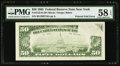 Error Notes:Foldovers, Fr. 2122-B $50 1985 Federal Reserve Note. PMG Choice About Unc 58EPQ.. ...