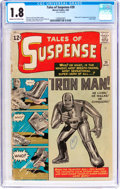 Silver Age (1956-1969):Superhero, Tales of Suspense #39 (Marvel, 1963) CGC GD- 1.8 Cream to off-whitepages....