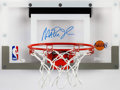 Autographs:Others, Magic Johnson Signed Mini Backboard and Hoop. . ...