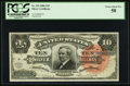 Large Size:Silver Certificates, Fr. 293 $10 1886 Silver Certificate PCGS Choice About New 58.. ...