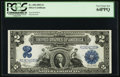 Large Size:Silver Certificates, Fr. 258 $2 1899 Silver Certificate PCGS Very Choice New 64PPQ.. ...