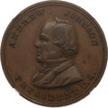 Political:Tokens & Medals, Andrew Johnson: DeWitt #1 Medal in Copper....