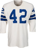 Football Collectibles:Uniforms, 1970-71 Claxton Welch Game Worn Dallas Cowboys Jersey....