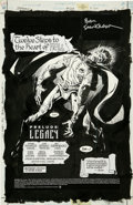 Original Comic Art:Splash Pages, Jim Aparo and Bill Sienkiewicz - Batman #533, Splash page 1Original Art (DC, 1996)....