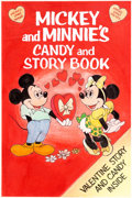 Animation Art:Concept Art, Micky Mouse Mickey and Minnie's Candy and Story Book CoverConcept Art (Walt Disney/American Candy Company, c. lat...