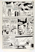 Curt Swan and Vince Colletta DC Comics Presents #30 Page 4 Original Art (DC, 198 Comic Art