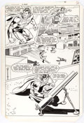 Curt Swan and Bob Oksner Superman #399 Page 26 Original Art (DC, 1984) Comic Art