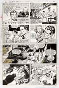 Adrian Gonzales and Rick Hoberg All-Star Squadron #17 Story Page 17 Original Art Comic Art
