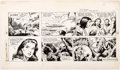Dan Barry and Bob Fujitani Flash Gordon Sunday Strip Original Art Group of 3 (Ki Comic Art