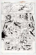 Chuck Wojtkiewicz and Don Hillsman Legionnaires Annual #3 Page 10 Original Art ( Comic Art
