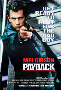 """Payback & Others Lot (Paramount, 1999). One Sheets (3) (26.75"""" X 39.75"""" & 27"""" X 40"""") DS Adva..."""