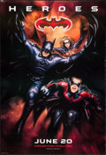 """Movie Posters:Action, Batman & Robin (Warner Brothers, 1997). One Sheets (2) (27"""" X 41"""") DS Advance """"Heroes"""" & """"Villains"""" Styles. Action.. ... (Total: 2 Items)"""