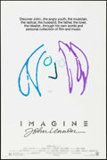 "Movie Posters:Rock and Roll, Imagine: John Lennon (Warner Brothers, 1988). One Sheet (27"" X40.75"") Blue/Purple Style, John Lennon Artwork. Rock and Roll..."