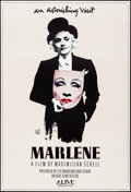 "Movie Posters:Documentary, Marlene (Alive Films, 1984). One Sheet (27"" X 41"") Michael Vollbrach Artwork. Documentary.. ..."