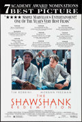 "Movie Posters:Drama, The Shawshank Redemption (Columbia, 1995). One Sheet (26.75"" X 39.75"") DS, Academy Award Style. Drama.. ..."