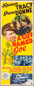 "Movie Posters:War, A Guy Named Joe (MGM, 1944). Insert (14"" X 36""). War.. ..."