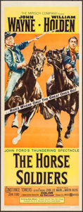 """Movie Posters:Western, The Horse Soldiers (United Artists, 1959). Insert (14"""" X 36""""). Western.. ..."""
