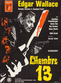 """Movie Posters:Foreign, Room 13 (Rialto, 1965). French Grande (45.25"""" X 61.5""""). Foreign.. ..."""