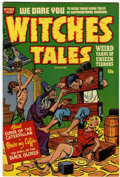 Golden Age (1938-1955):Horror, Witches Tales #5 (Harvey, 1951) Condition: VF/NM....