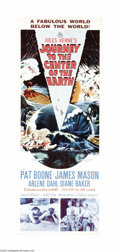 "Movie Posters:Science Fiction, Journey to the Center of the Earth (20th Century Fox, 1959). Insert(14"" X 36""). Pat Boone and James Mason star in this sci-..."