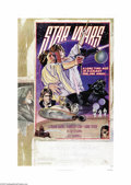 "Movie Posters:Science Fiction, Star Wars (20th Century Fox, 1976). One Sheet (27"" X 41"") Style D.George Lucas' sci-fi classic is beautifully represented b..."