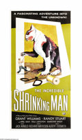 "Movie Posters:Science Fiction, Incredible Shrinking Man (Universal International, 1957). ThreeSheet (41"" X 81""). Jack Arnold, the man who brought us ""Crea..."