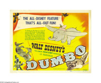 "Dumbo (RKO, 1941). Title Lobby Card (11"" X 14""). Many sources from the Disney company claimed that this was Wa..."