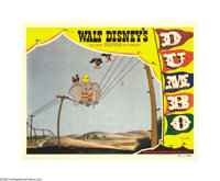 "Dumbo (RKO, 1941). Lobby Card (11"" X 14""). Aside from the title card, this card is considered by many to be th..."