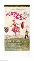"Movie Posters:Musical, The Sound Of Music (20th Century Fox, 1965). Three Sheet (41"" X81""). Sister Maria, a novice at an Austrian convent, is sent..."