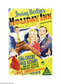 "Movie Posters:Musical, Holiday Inn (Paramount, 1942). Australian One Sheet (27"" X 40"").Irving Berlin got the idea for the film after writing the s..."