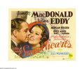 "Movie Posters:Musical, Sweethearts (MGM, 1938). Title Lobby Card and Lobby Card (1) (11"" X14""). This lavish Technicolor musical featured MGM's ""Si... (2items)"
