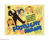 "Footlight Parade (Warner Brothers, 1933). Title Lobby Card (11"" X 14""). This is considered to be the one of th..."