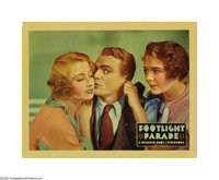 "Footlight Parade (Warner Brothers, 1933). Lobby Card (11"" X 14""). This magical musical was directed Lloyd Baco..."