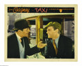 "Movie Posters:Crime, Taxi (Warner Brothers, 1932). Lobby Card (11"" X 14""). This is thepicture that American myth says Cagney quoted the famous l..."