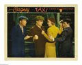 "Movie Posters:Crime, Taxi (Warner Brothers, 1932). Lobby Card (11"" X 14""). This wasJames Cagney's eighth role (and only his fourth the year afte..."