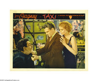 """Taxi (Warner Brothers, 1932). Lobby Card (11"""" X 14""""). After James Cagney's breakout role in """"Public Enemy..."""