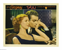 """Taxi (Warner Brothers, 1932). Lobby Card (11"""" X 14""""). A huge box-office success and a key film in James Cagney..."""