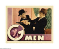 "Movie Posters:Crime, G-Men (Warner Brothers, 1935). Lobby Cards (2) (11"" X 14""). James Cagney switches sides in this story personally approved by... (2 items)"