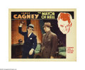 "Movie Posters:Crime, Mayor of Hell (Warner Brothers, 1933). Lobby Card (11"" X 14"").James Cagney stars as a small-time gangster who is assigned t..."