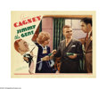 "Movie Posters:Comedy, Jimmy the Gent (Warner Brothers, 1934). Lobby Card (11"" X 14"").James Cagney stars in this Michael Curtiz comedy as a con ma..."