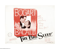 "The Big Sleep (Warner Brothers, 1946). Half Sheet (22"" X 28""). One of the most convoluted, yet classy detectiv..."