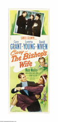 "Movie Posters:Comedy, The Bishop's Wife (RKO, 1948). Insert (14"" X 36""). This charmingromantic comedy starring Cary Grant and Loretta Young was a..."