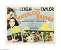 "Movie Posters:Drama, Waterloo Bridge (MGM, 1940). Half Sheet (22"" X 28""). Vivian Leighreported that of all her films, ""Waterloo Bridge,"" was her..."