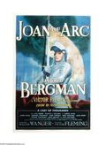 "Movie Posters:Drama, Joan of Arc (RKO, 1948). One Sheet (27"" X 41""). Director VictorFleming's last film, this was Ingrid Bergman's personal proj..."