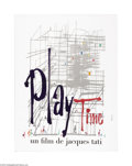 """Movie Posters:Comedy, Playtime (Spectra Films, 1967). French Petite (23.5"""" X 31.5"""").Jacques Tati won worldwide acclaim for """"Mon Oncle"""" which won ..."""