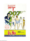 "Movie Posters:Action, Dr. No (United Artists, 1962). Australian One Sheet (27"" X 40"").For the first film release of the James Bond franchise the ..."