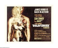 """Goldfinger (United Artists, 1964). Half Sheet (22"""" X 28""""). Most Bond aficionados consider this film to be the..."""