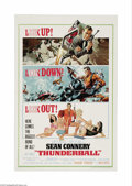 "Movie Posters:Action, Thunderball (United Artists, 1965). One Sheet (27"" X 41""). Thefourth installment in the James Bond series is a lively spect..."