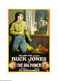 "Movie Posters:Western, The Big Punch (Fox Film Corporation, 1921). One Sheet (27"" X 41""). This film was director John Ford's second film for Fox an..."